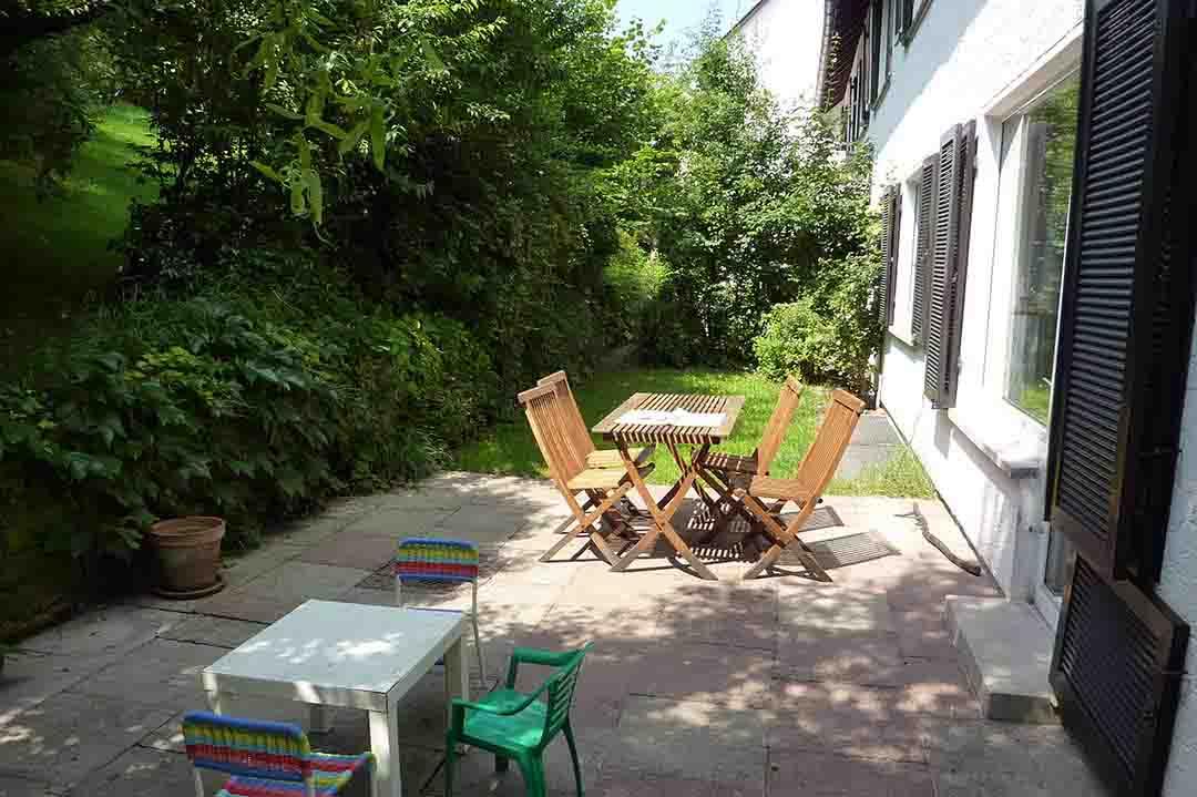 Gartenterrasse Eigentumswohnung Stuttgart-Kaltental Verkauf