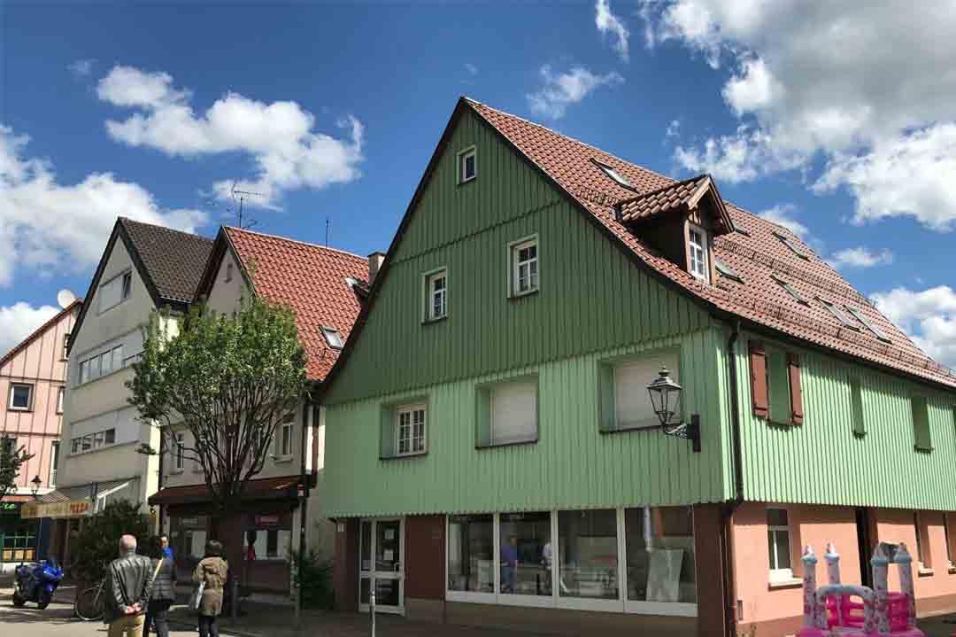 Wohn- und Geschäftshaus Welzheim