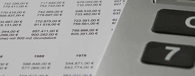 Taschenrechner Marktwerttabellen Immobilienwert