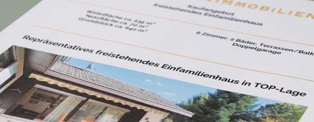Hausbeschreibung Exposé Immobilienmakler Stuttgart